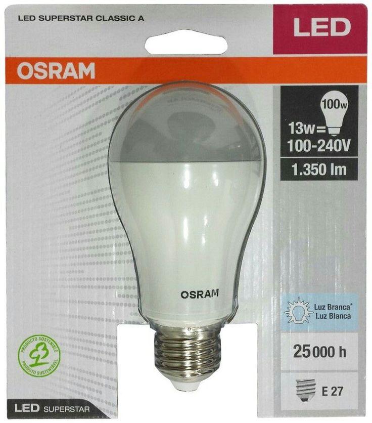 PACK X12 OSRAM LED 13W $145 c/u