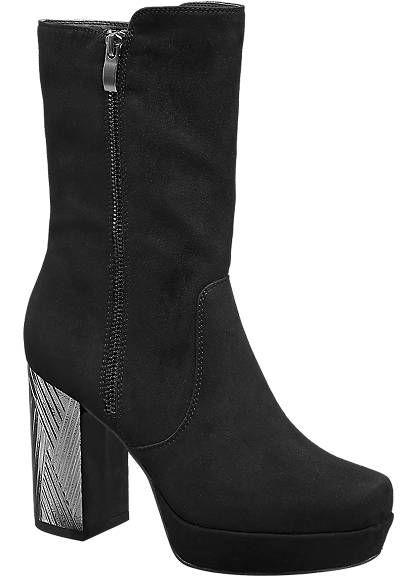 Catwalk Tall Platform Ankle Boots