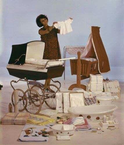 Voor de baby dit had je nodig als babyuitzet