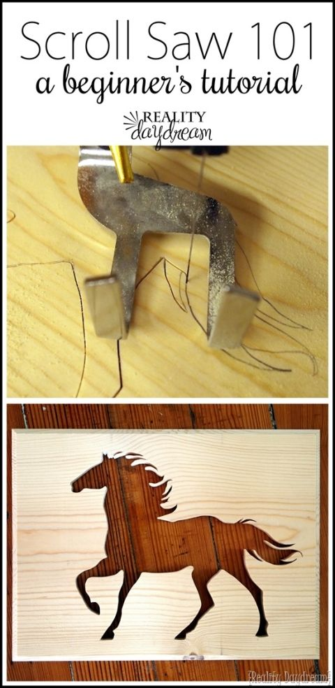 Learn how to use your scroll saw! {Reality Daydream}