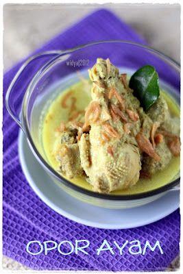 Widya Cakes: Opor Ayam Kampung