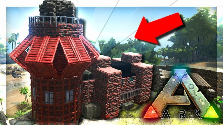 ARK: Survival Evolved Server - UPGRADING THE BASE! #38