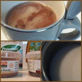 Warme chocolademelk - zonder geraffineerde suiker