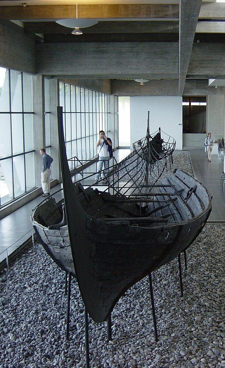 Viking boat, Roskilde, Denmark