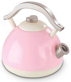 pink retro tea kettle - Chasing Fireflies