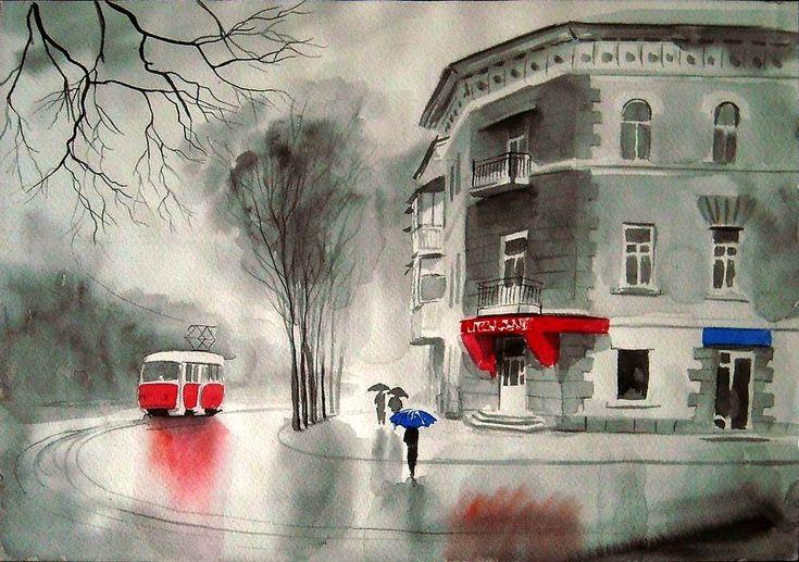 Кладовка Левконои - А.Болотов. Синий зонтик