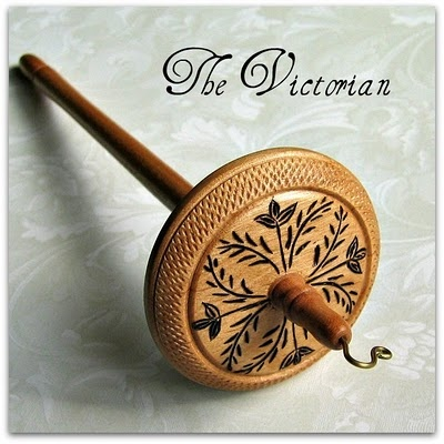 Carved drop spindle: Gorgeous Spindle, Cherries Tops, Drop Spindle, Whorl Drop, Victorian, Grizzly Mountain, Mountain Art, Tops Whorl Spin, Beautiful Drop