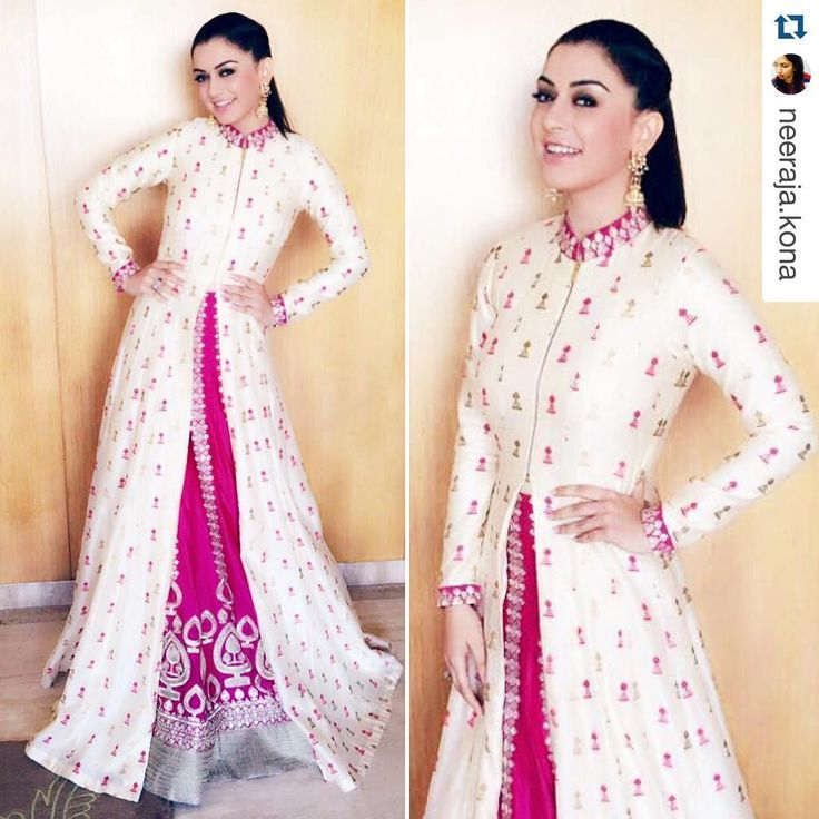 """18.4k Likes, 153 Comments - Hansika M (@ihansika) on Instagram: """"#Repost @neeraja.kona with @repostapp. ・・・ In a Fresh of the runway @svacouture look &…"""""""
