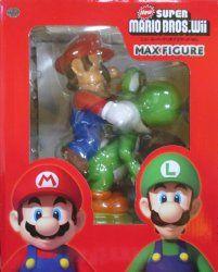 日本オート玩具 ニュースーパーマリオブラザーズwii マックスフィギュア 全2種セット