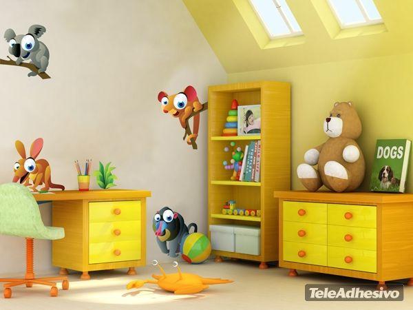 Kinderzimmer Wandtattoo Ani 4