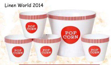 Popcorn serving Buckets