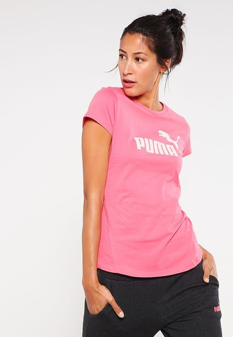 Puma Print T-shirt - sunkist coral Women Shirts & Tops,puma running shoes sale,Biggest Discount,Puma Store Of Uk - Puma Online With Clearance Price