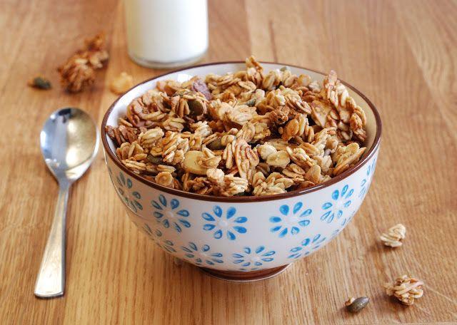 Pauline à la crème anglaise: Mon granola qui croque et qui ne reste pas sur les hanches