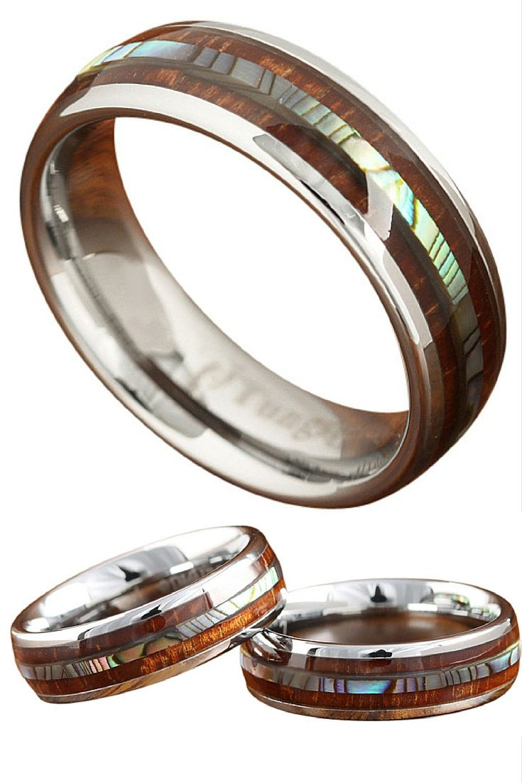 Did This Wood Wedding Band Just Take Your Breath Away? It Did For Me.