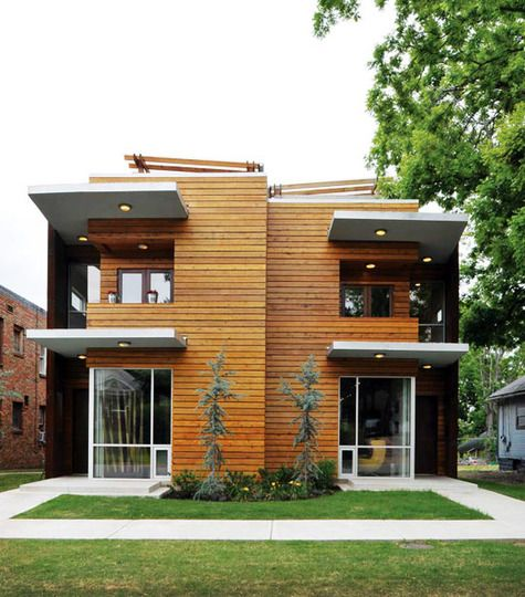 17 best images about duplex fourplex plans on pinterest for Contemporary townhouse plans