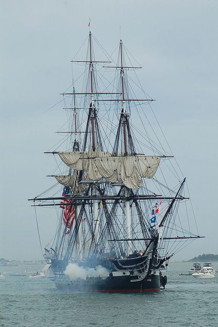 America, America, God mend thine every flaw, Confirm thy soul in self-control, Thy liberty in law....   USS Constitution War of 1812