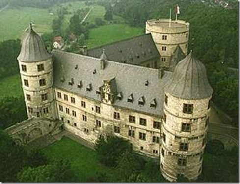 Wewelsburg castle, Germany
