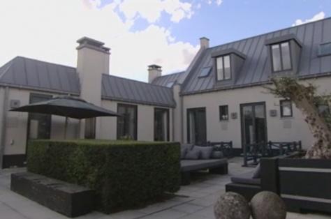 Piet Boon's house in WestZaan,Netherlands