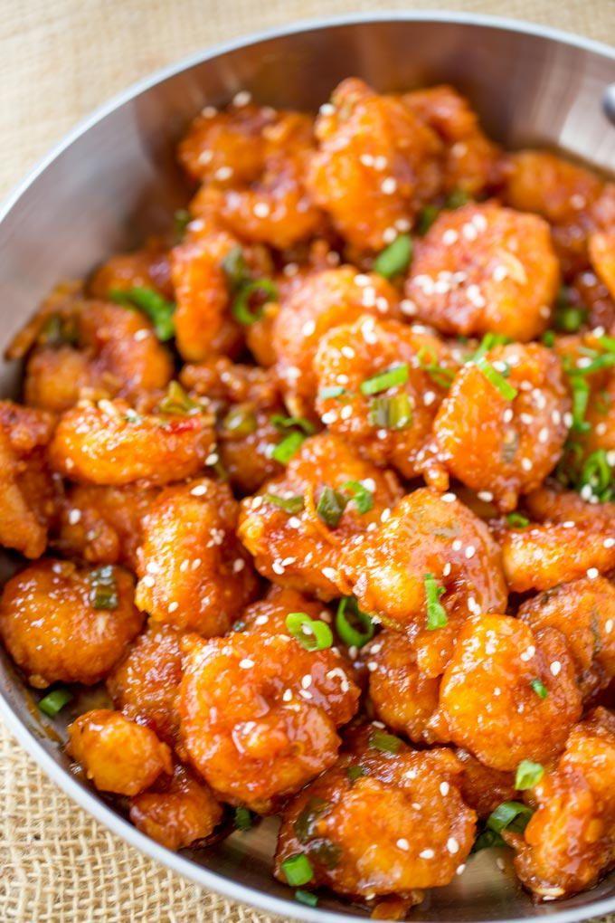 Honey Orange Firecracker Shrimp Best Shrimp Recipes Shrimp Recipes Easy Shrimp Recipes For