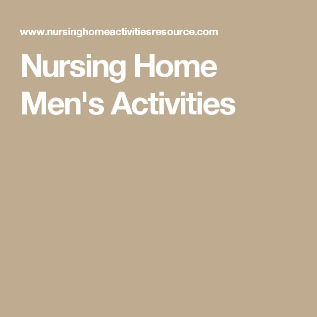 Best Nursing Home Activities Ideas On Pinterest Activities