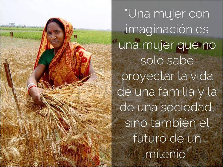 """""""Una mujer con imaginación es una mujer que no solo sabe proyectar la vida de una familia y la de una sociedad, sino también el futuro de un milenio"""". Rigoberta Menchú.  Vaya nuestro homenaje en las palabras de esta gran mujer a todos las mujeres del mundo. FELIZ DÍA INTERNACIONAL DE LA MUJER!!!  info@bialar.com - www.bialar.com"""