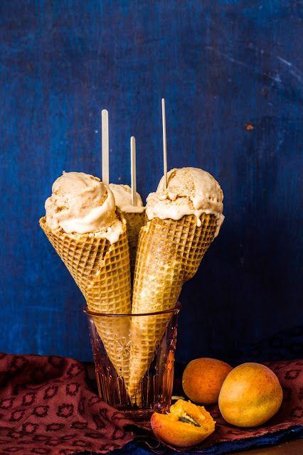 Mézesélet: Sárgabarack fagylalt