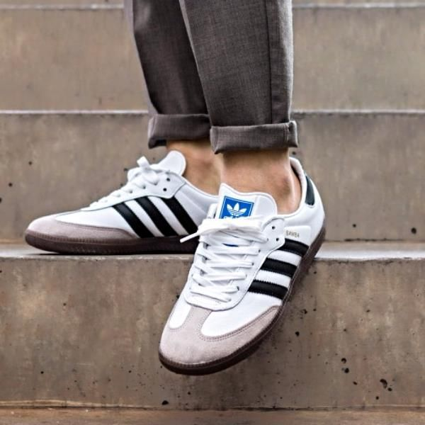 Padre fage Contestar el teléfono Arado  Adidas Samba OG Shoes - Born on the soccer field, the Samba is a timeless  icon of street style with a… | Sneakers men fashion, Adidas samba outfit,  Sneakers fashion