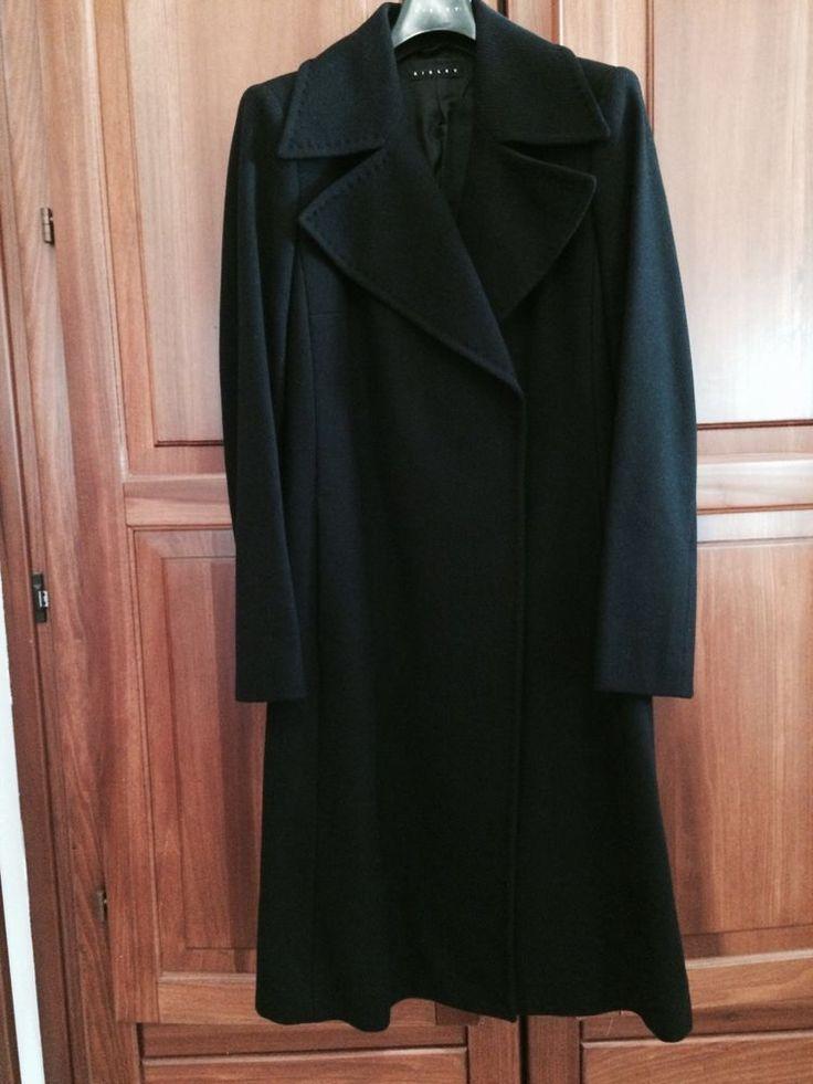 Cappotto donna Sisley colore nero tg. 42