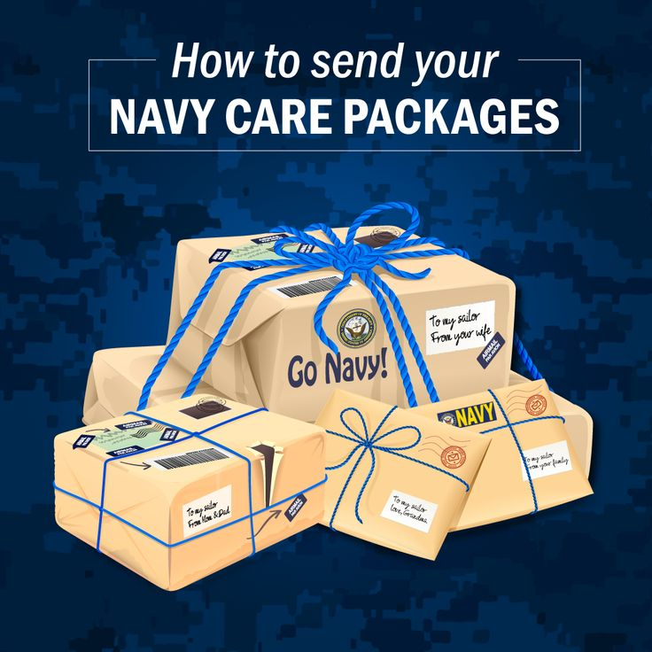 Find out how to make the ultimate care package for your deployed Sailor!