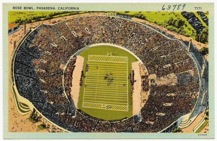 Rose Bowl, Pasadena, CA.