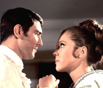 George Lazenby and Diana Rigg - On Her Majesty's Secret Service