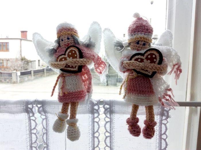 Jak zrobić szydełkiem aniołka z wełny   Szysia