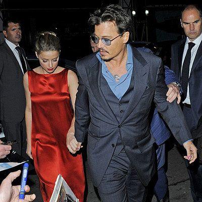Johnny Depp and Amber Heard Private Plane   Johnny Depp Latest News, Photos, and Video   POPSUGAR Celebrity