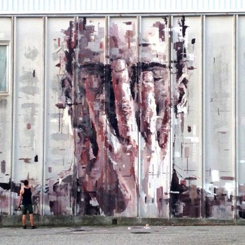 The work of Borondo in Arcidosso, Italy #streetart #borondo #streetart jd