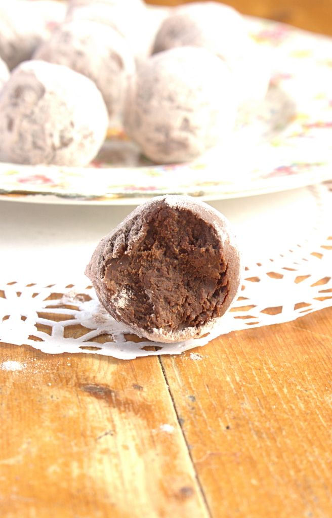 Dark Chocolate Nutella Truffles - and how to rescue seized chocolate