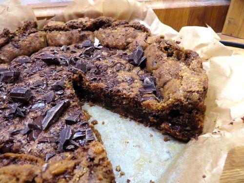 Amerikans cookie med choklad & kola