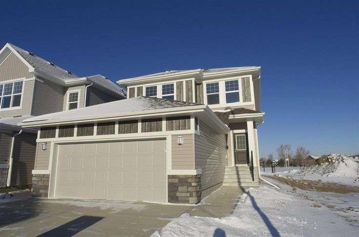 """Alquinn's 3 bedroom """"Ampleforth"""" 2-Storey is ready for Immediate Possession in South Creek, Stony Plain!"""