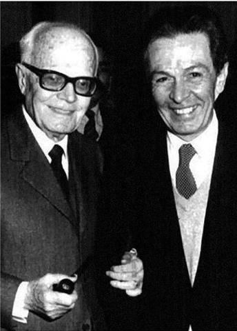 Enrico Berlinguer col Presidente della Repubblica Sandro Pertini