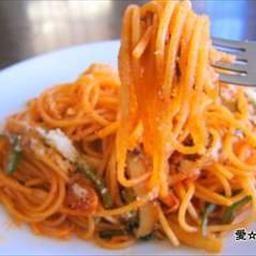 Japanese Napolitan Spaghetti: My favorite Japanese Napolitana Spaghetti.