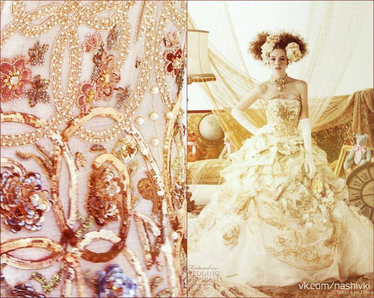"""""""Ты удивишься, как же легко утром вставать с постели, когда ты счастлива"""" И.Машковский #вышивка #вышивание #рукоделие #цитаты #подборки #красота #мода #женщина #белый #платье #стразы #жемчуг #музыка #утро #невеста #счастье"""