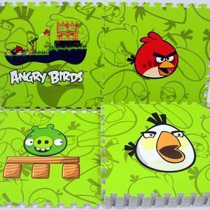 Karpet Puzzle Evamat Angry Bird 30 x 30cm