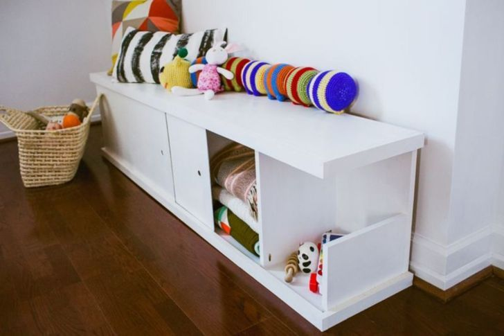 33 Most Creative Diy Storage That Will Enhance Your Home While Christmas Diy Rangement Stockage De Salon Etagere En Carton