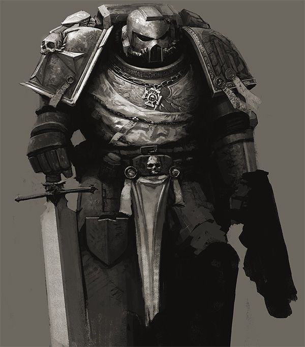 Let a wave of repugnance wash over you.  Black Templar