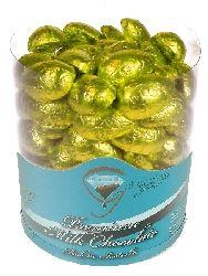 A bulk tub of Half Easter Eggs Gold.