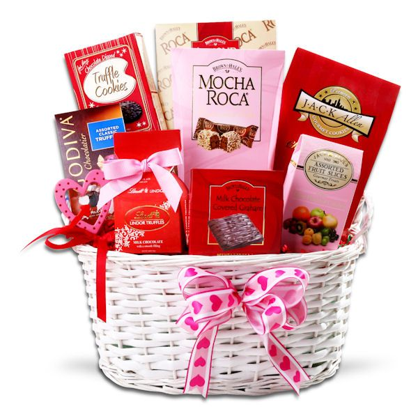 Valentines Decadence Gift Basket | Buy at All About Gifts & Baskets (http://www.aagiftsandbaskets.com/valentines_decadence_gift_basket.html)