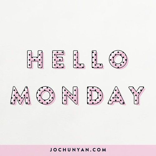A little greeting for this Monday Morning! We often talk about how much we dread the start of a new work week, but what if we turned it around and greeted the day with a big warm hug instead?!! I wonder how things will flow if we choose to take the positive perspective each day! :) much love!! #hellomonday