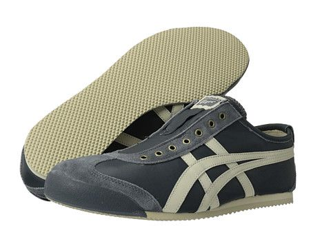 Onitsuka Tiger by Asics Mexico 66® Slip-On Grey/Birch - Zappos.com Free Shipping BOTH Ways