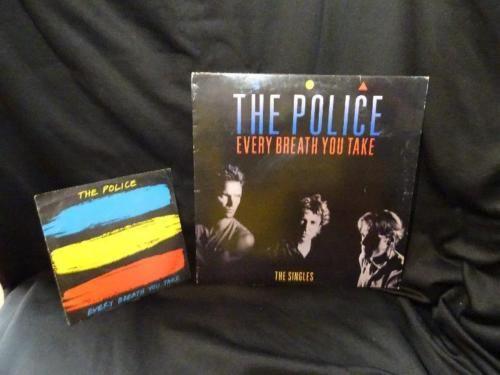 The Police – Every breath you take vinile 45 giri +33 giri