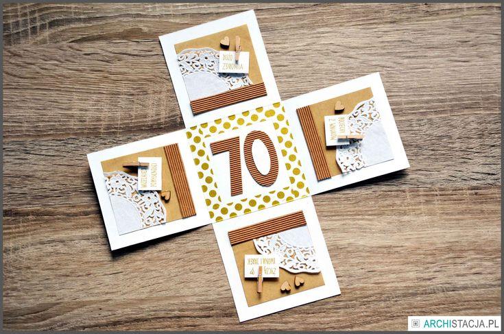 pudełko na urodzinyDIY http://archistacja.pl/index.php/2016/04/06/zrob-kartke-pudeleczko-urodziny/