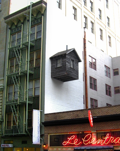 There is always room for one more #funny #arkitektur #architecture